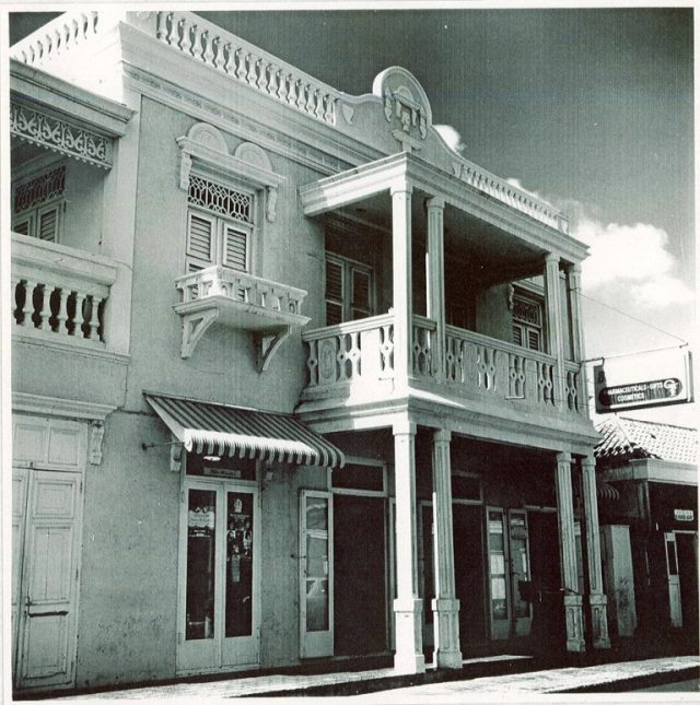 Monumental building in Aruba