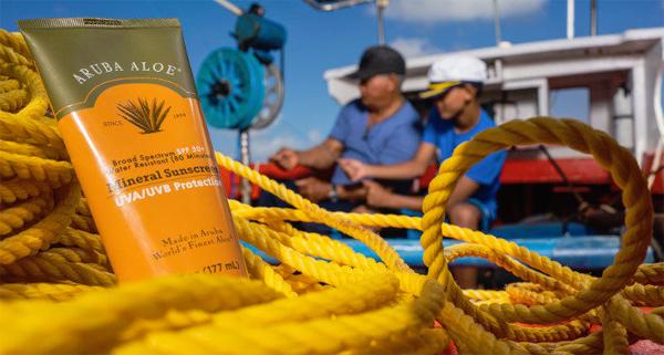 Aruba aloe new mineral sunscreen