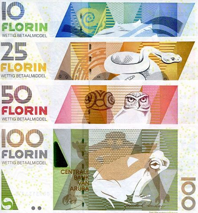 Old Aruban Banknotes No Longer Accepted