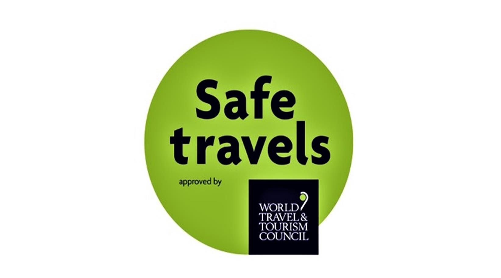 aruba safe travels stamp by wttc
